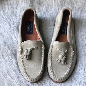 New Cole Haan Pinch America suede Loafers 35.5